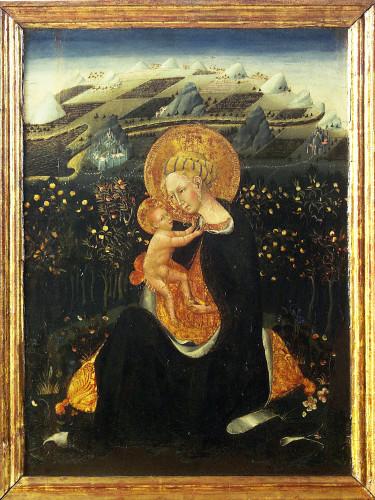 Vierge de l'Humilité - Giovanni di Paolo