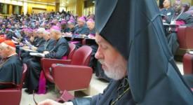 Le Métropolite orthodoxe de Belgique au synode à Rome