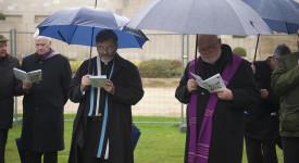 Un pèlerinage des Evêques européens en Commémoration de la Première Guerre mondiale