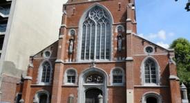 Dimanche 23 novembre : messe en Eurovision depuis l'Eglise des Dominicains de Bruxelles