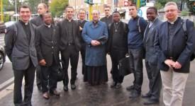 Namur : A Rome, les »jeunes prêtres» ont prié et aussi discuté sur les grandes questions du monde