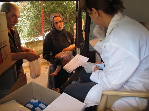 Mobiele kliniek Libanon