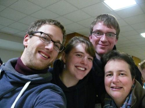 Pastorale des jeunes délégation belge