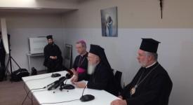 Visite du patriarche œcuménique Bartholomée aux évêques de Belgique