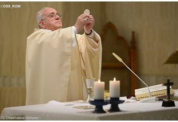 Pape eucharistie