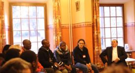 Tournai : Rencontre entre Mgr Harpigny et des catéchumènes