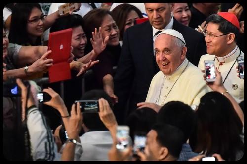 pape à Manille