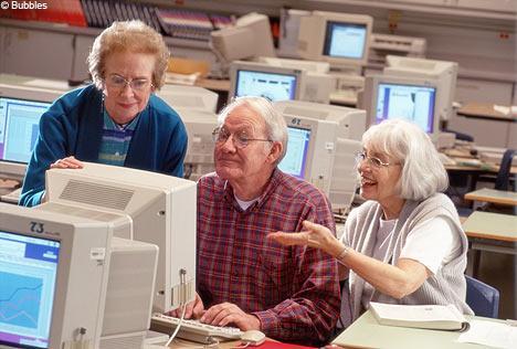retraités au travail