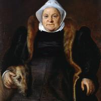 © Frans Floris de Vriendt Portrait d'une vieille dame 1558 - Musée des Beaux-Arts de Caen