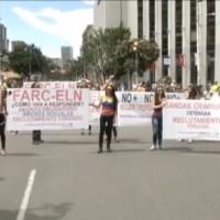 Bogota Marche pour la vie Euronews