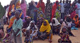 François manifeste sa proximité aux populations du Nigeria
