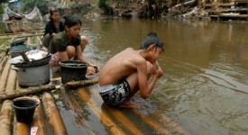 Le manque d'hygiène tue 50.000 personnes par an en Indonésie