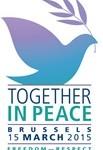 «Together in peace» à Bruxelles ce dimanche : l'invitation de l'Evêque de Liège !