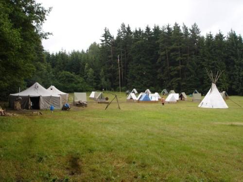 2005_summer_camp_of_scouts_from_Třebíč,_Czech_Republic