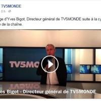 Attaque informatique TV5 Monde