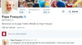 @Pontifex – 20 millions de followers !