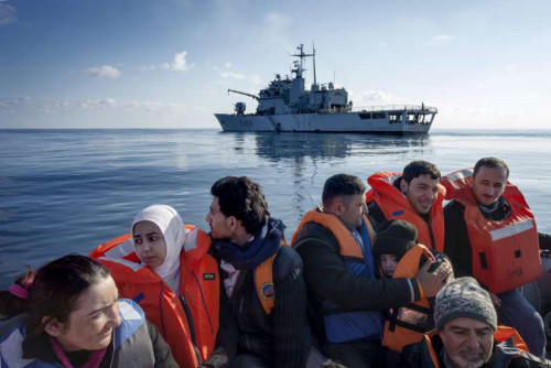 Migrants-syriens-UNHCR