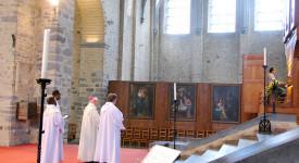 Nivelles : le grand orgue de la collégiale est béni !