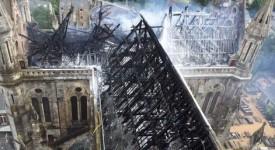 France: un incendie ravage la basilique Saint-Donatien de Nantes