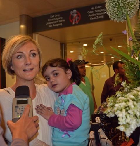 Anne-Laure Losseau et Haifa (c) Beatrice Petit
