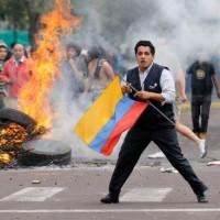 Equateur manifestation