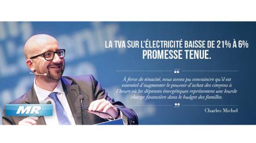 Michel électricité 6 pourcent