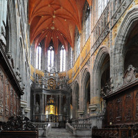 Saint-Hubert basilique choeur