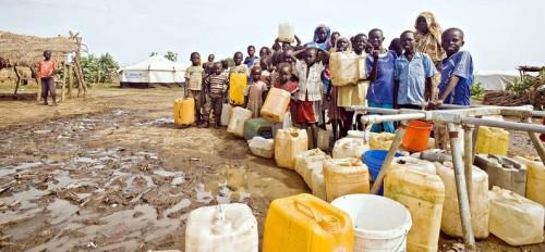 Sud Soudan camp de réfugiés de Jamam (c) John Ferguson_Oxfam