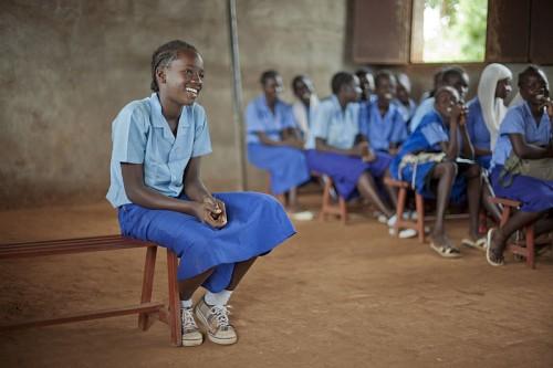 Sud soudan education filles à Bahr_el_Ghazal OXFAM