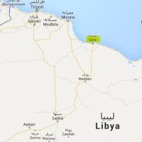 Syrte Libye carte