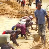 travail mines Afrique