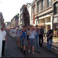 Procession de la Vierge Noire, le 15 août à Liège