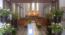 Floralies de Jette à l'Eglise Saint-Pierre