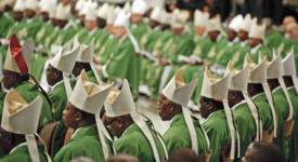 Les évêques africains rejettent le néocolonialisme