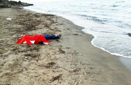 Le corps du petit Aylan, 3 ans, retrouvé sur une plage de Bodrum, en Turquie