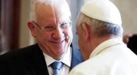 Vatican – Le président israélien reçu par le Pape François