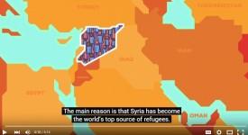 La crise syrienne et la crise des réfugiés expliquées en 6 minutes