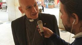 L'évêque de Nice visite les sinistrés de la Côte d'Azur