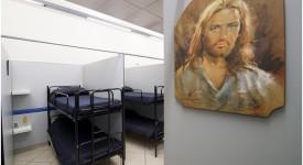 Le Vatican inaugure un dortoir pour les sans-abri