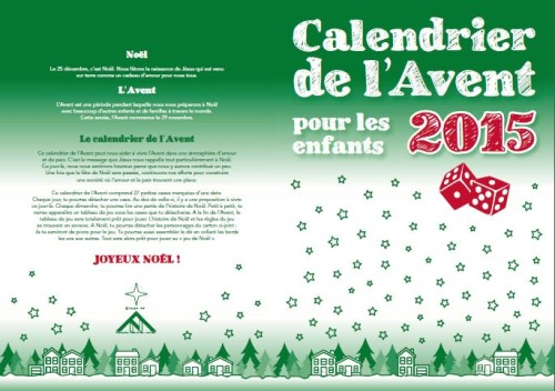 calendrier Avent 2015