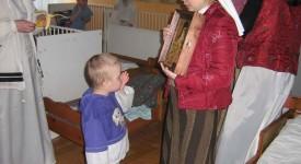 Exposition et vente d'artisanat monastique à l'UOPC