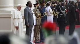 Le Kenya, première étape du voyage du pape en Afrique
