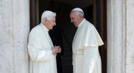 Benoît XVI, à l'ouverture de la Porte Sainte
