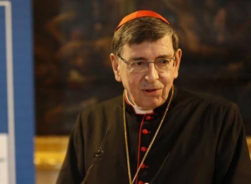 le cardinal Kurt Koch, président du Conseil pontifical pour la promotion de l'Unité des chrétiens.