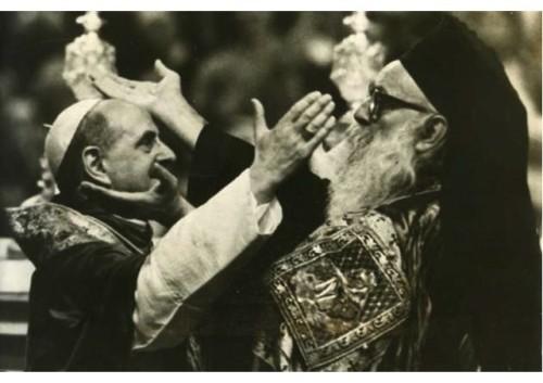 Paul VI et Athénagoras