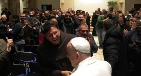 Visite «surprise» du pape François à Rieti et Greccio