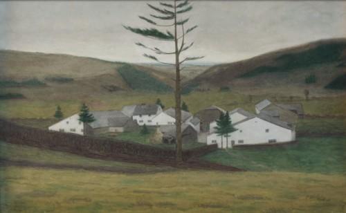 Georges Le Brun - Le village dans la vallee (c) Jacques Spitz