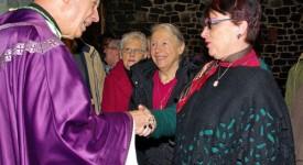 Mgr Léonard a dit au revoir à son ancien diocèse