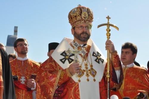 Sa Béatitude Sviatoslav Chevtchouk, chef de l'Eglise Gréco-Catholique Ukrainienne