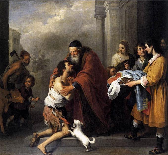 Le retour du fils prodigue (Murillo)